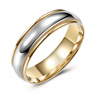 Milled Full Comfort Band
