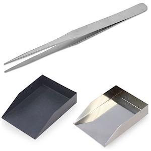 Tweezers & Shovels