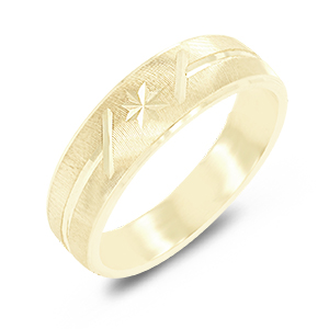 Yellow Gold Design Bands