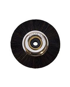 """Black Bristle Brush, 1-3/4"""" Diameter"""