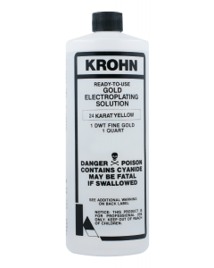 Krohn Ready-to-Use Gold Plating Solutions