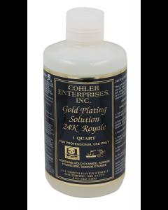 Cohler Gold Bath 24K Plating Solution