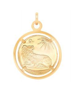 10K Yellow Gold Coin Zodiac