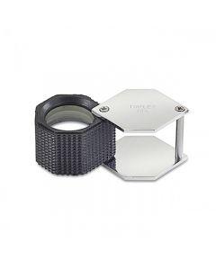 10X Triplet Hexagon Loupe 20.5mm