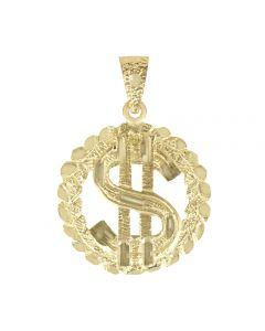 Dollar Sign in Circular Frame 3