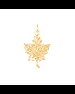 Maple Leaf Charm