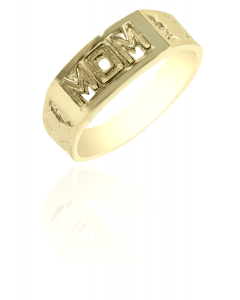 Mom Ring with Hearts