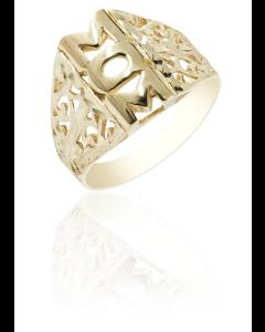 Mom Ring Diamond Cut