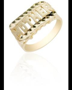Mother Ring Diamond Cut
