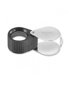 10X Triplet Oval Loupe 18mm