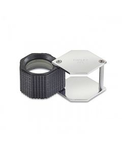 10X Triplet Hexagon Loupe 20.5mm