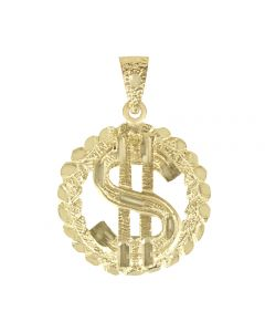 Dollar Sign in Circular Frame 3
