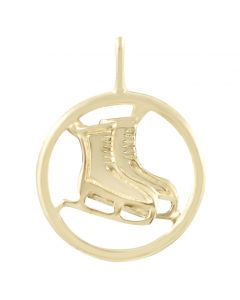 Ice Skates Charm