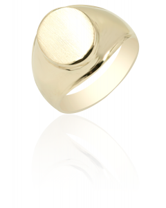 Signet Ring Oval Face