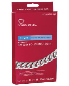 Connoisseurs Gold Silver Polishing Cloth
