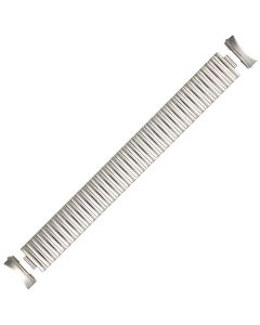 Steel Metal Caterpillar Style Expansion Watch Strap 20mm