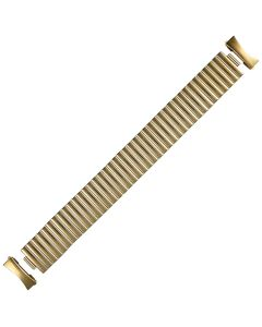 Yellow Metal Caterpillar Style Expansion Watch Strap 20mm